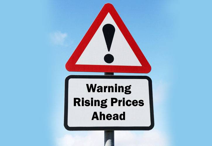Supercover Insurance | Warning: rising prices ahead
